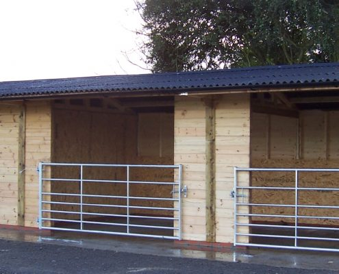 field shelters equestrian